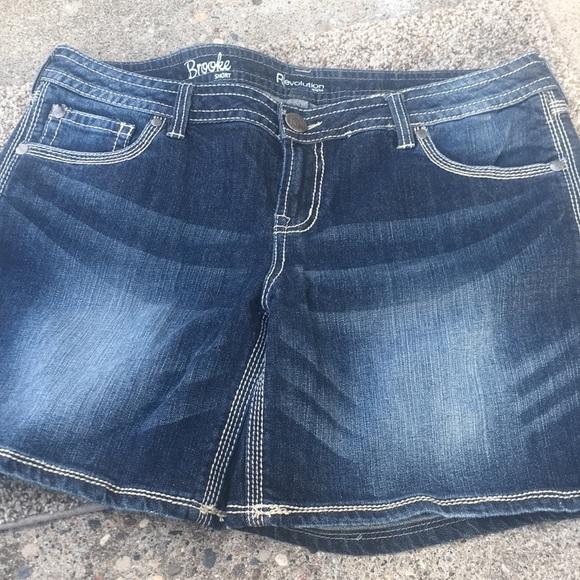Revolution Pants - Revolution by Rickis Brooke shorts size 33